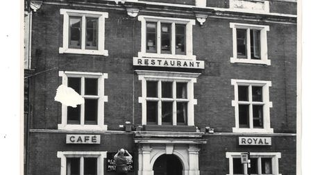 Norwich's Cafe Royal restaurant in London Street, once THE place to go for fine dining.