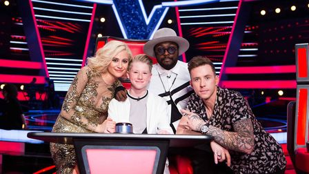 Perry Cooke appeared on The Voice Kids 2017 on will.i.am's team (Photo: ITV/Debbie Cooke)