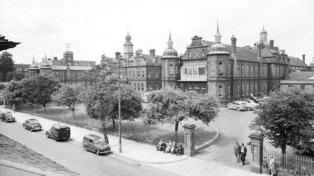 The Norfolk and Norwich Hospital, as pictured by our photographer on June 29 1959.