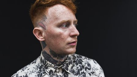 Tattoo fan Frank Carter who will be inking a fan after Norwich gig. Photo: Submitted