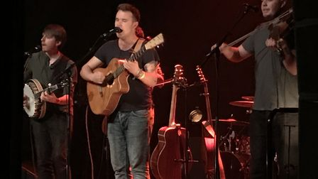 Sam Kelly & The Lost Boys performing at their sold out show at Norwich Arts Centre. Photo: Danielle