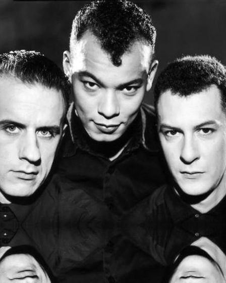 Andy Cox, Roland Gift and David Steele of Fine Young Cannibals. Photo: Submitted