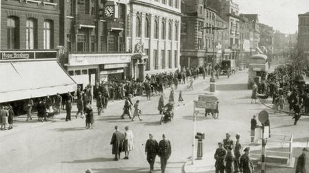 The same view on Easter Saturday in 1944. Picture: Archant Library
