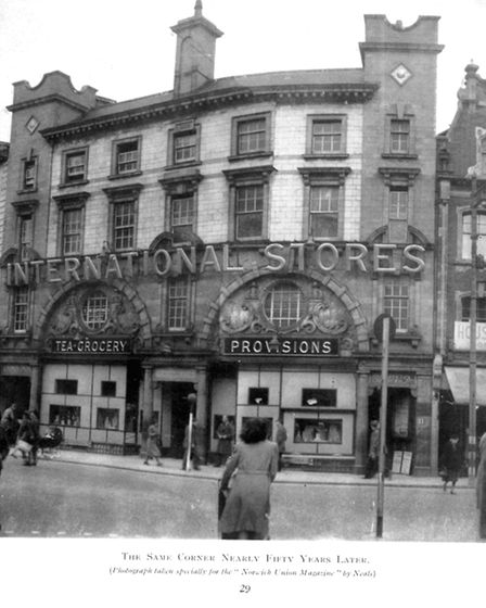 The same corner 50 years later. Picture: Archant Library