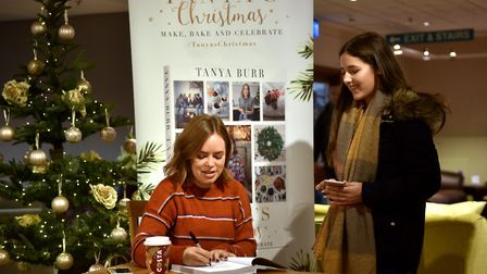 Tanya Burr book signing at Jarrolds. Picture: ANTONY KELLY