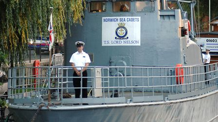 The TS Lord Nelson is home to the sea cadets. Photo: Archant