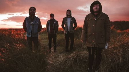 Norwich band Ducking Punches to release their new album Alamort. Photo: Charlie Wallis/Sonic PR