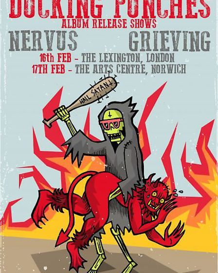Ducking Punches will release their new album at Norwich Arts Centre. Photo: Submitted