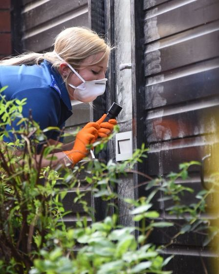 Detectives investigating alleged sex attacks. Picture: Antony Kelly