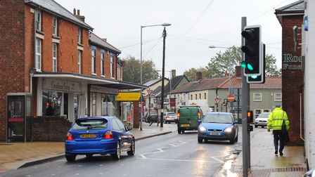Generic views of traffic in Attleborough town centre. Picture: DENISE BRADLEY/ARCHANT LIBRARY