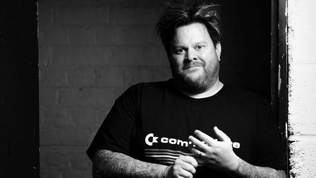 Jaret Reddick from Bowling For Soup. Photo: Kai Piper