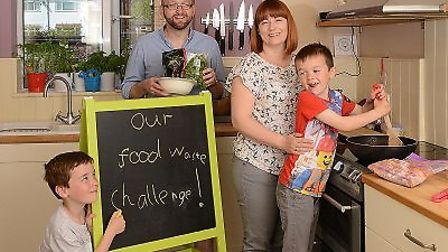 Households in Thorpe St Andrew are being invited to taken on the Zero Waste Kitchen Challenge. Pictu