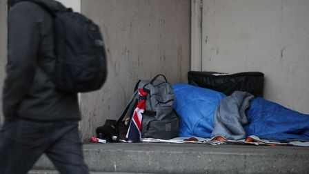 Homelessness is an issue that needs to be tackled in Norwich, says David Powles. Photo credit should