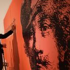 Staff at the Norwich Castle Museum setting up the Rembrandt exhibition Rembrandt: Lightening the Dar