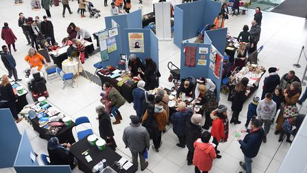 The Norwich and Central Norfolk MIND mental health charity's Festival of Cultures at the Forum. Pict