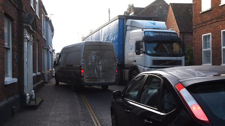 Road traffic is one of the major causes of excessive nitrogen dioxide. Picture: Stephen Cripps