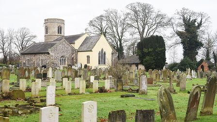 St Mary's Church at Watton. Picture: Ian Burt