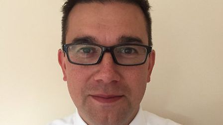 Mark Woodhouse has been appointed as the new principal of The Nicholas Hamond Academy. Picture: Mark