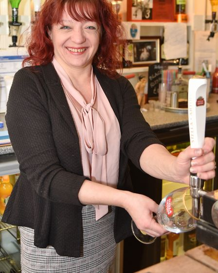 The Flying Fish pub in Carbrooke has new owners. Jo Clarke along with her fiancé Jason Lewis are mak
