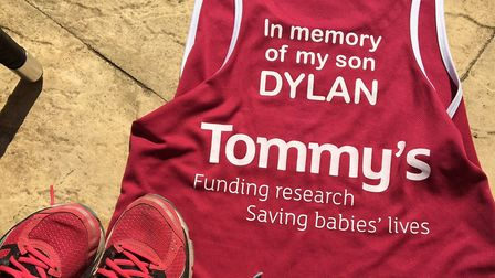 Bryony Seabrook is fundraising for Tommy's. Photo: Tommy's