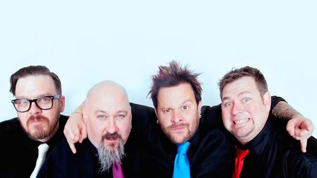 Bowling For Soup. Photo: Will Von Bolton