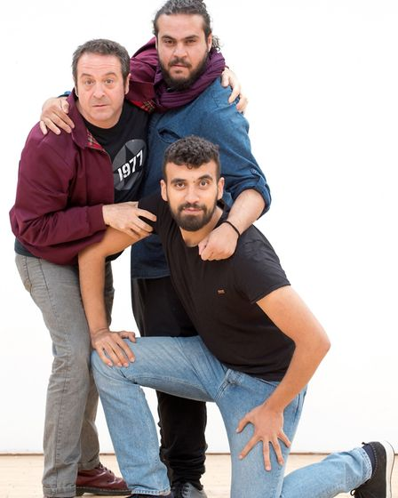 Mark Thomas who is coming to Norwich with Faisal Abualheja and Alaa Shehada for Showtime From The Fr