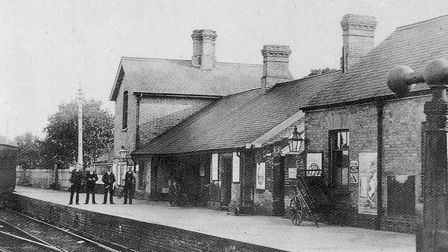 The former Watton Station which was on Griston Road. Picture: Archant Library