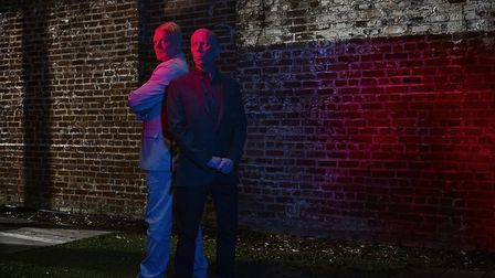 Andy Bell and Vince Clarke of Erasure who are coming to the Norwich UEA. Photo: Doron Gild