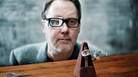 Jim Moir, better known as comedian Vic Reeves, taking part in BBC4 documentary Gaga For Dada: The Or