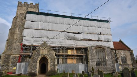 St Martin's Church in Thompson is appealing for £50k to repair the roof. Some money has been raised
