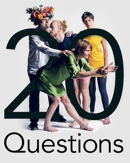 20 Questions by UNIT will be performed at The Garage in Norwich. Photo: Danilo Moroni