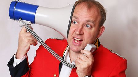 Tim Vine is bringing his show Sunset Milk Idiot to the region. Photo: Submitted