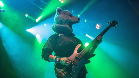 Man With A Mission supporting Don Broco at The Nick Rayns LCR. Photo: Danielle Booden