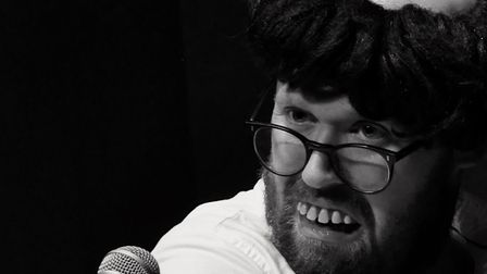 John Kearns performed Don't Worry, They''re Here at The Garage, in Norwich. Photo: Submitted
