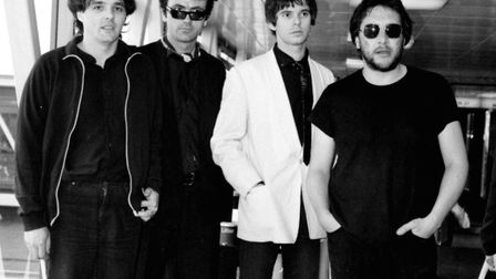 Archive photo of The Stranglers in 1980. Photo: Andrew Milligan