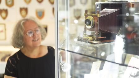 The Museum 4 Watton opens to the public on the 16th March. Pictured is trustee Jackie Greenbrook. Pi