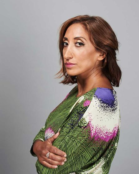 Comedian and writer Shazia Mirza is bringing her show to Norwich. Photo: Amelia Troubridge