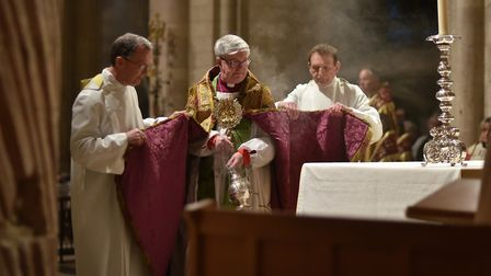 Service Norwich Cathedral to celebrate the 25th anniversary of the consecration of the Bishop of Nor