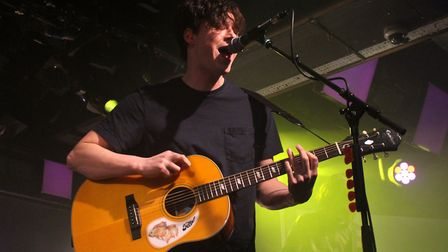 The Front Bottoms performing at The Waterfront in Norwich. Photo: Sam Dawes