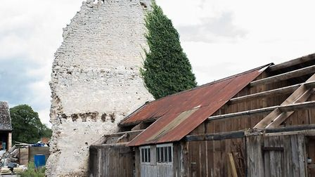 The site in West Acre where Derek Bates will open Duration Brewing. Picture: Simon James/Hop & Barle