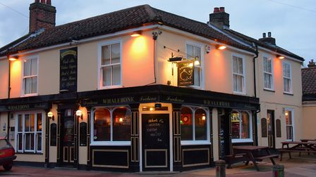 The Whalebone Freehouse pub in Norwich. Picture by SIMON FINLAY