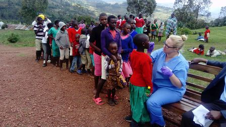 Sarah Drew is planning to visit Uganda as part of an expedition with the charity Dentaid. Photo: Sar