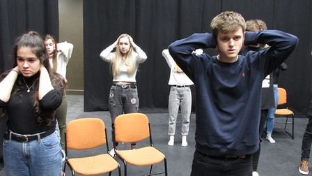 Members of Norwich Theatre Royal Youth Company will perform [BLANK]. Photo: Submitted