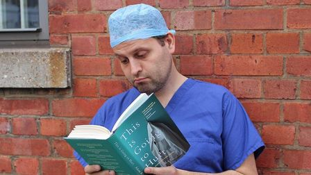 Adam Kay who is bringing This Is Going To Hurt (Secret Diaries Of A Jnr Doctor) to Norwich Playhouse
