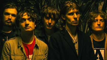 Indie rock band Cabbage. Photo: Niall Lea