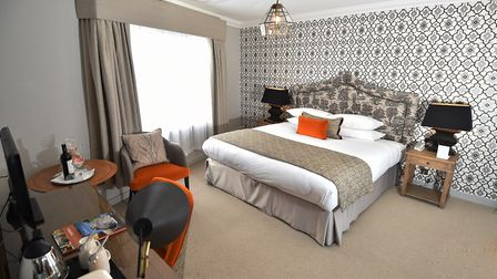 Opening of the newly refurbished rooms at The Maids Head Hotel, Norwich. Picture: ANTONY KELLY
