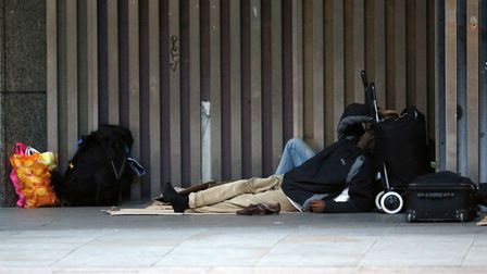 More than £1m could be allocated to tackling homelessness in Norwich. Picture: Jonathan Brady/PA Wir