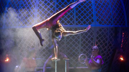 Cirque Berserk! comes to Norwich Theatre Royal on April 5-7. Photo: Piet Hein-Out