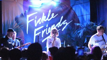 Fickle Friends performing at The Watefront Studio in Norwich on 26th March 2018. Photo: Ross Halls