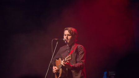 The Beach supporting Tom Walker at Norwich Arts Centre on 26th March 2018. Photo: Danielle Booden
